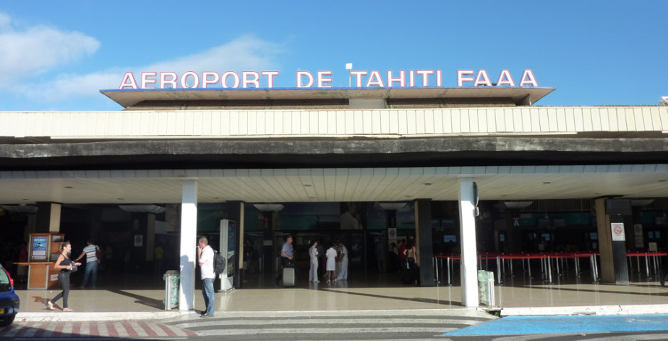 L'aéroport international de Tahiti Faa'a